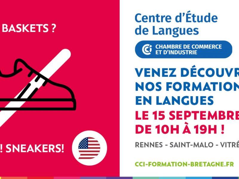 Venez découvrir nos Centres d'Etude de Langues sur les différents sites de Rennes, Saint-Malo, Vitré et Fougères !