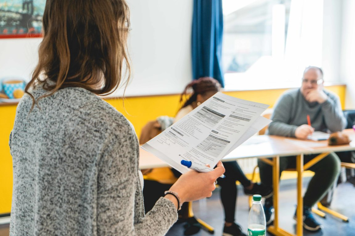 French classes in Cherbourg