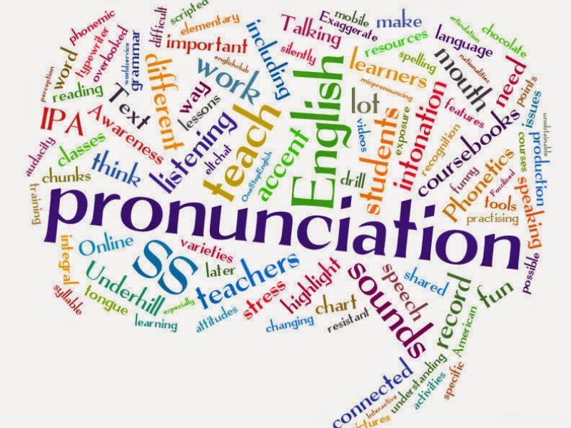 Prononciation anglaise… parler anglais pour être pris au sérieux!