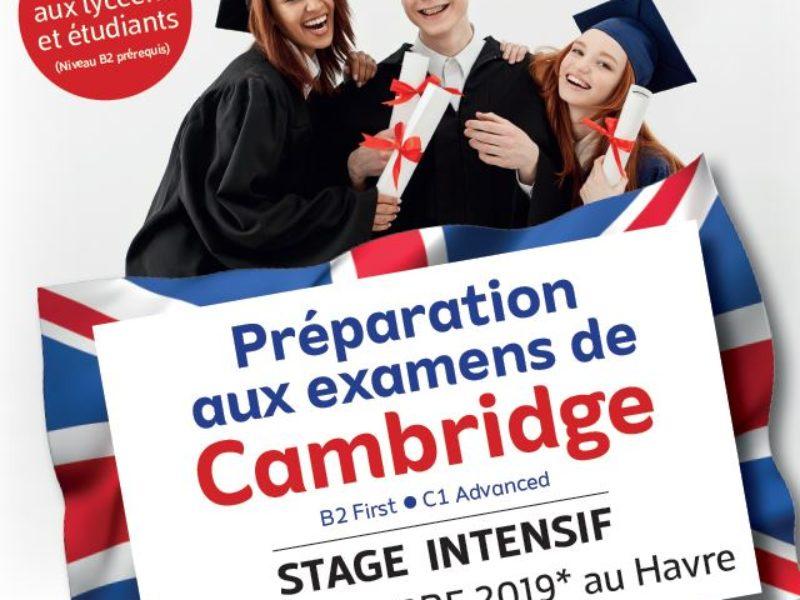 Prépa Cambridge au CEL du Havre – Vacances de la Toussaint