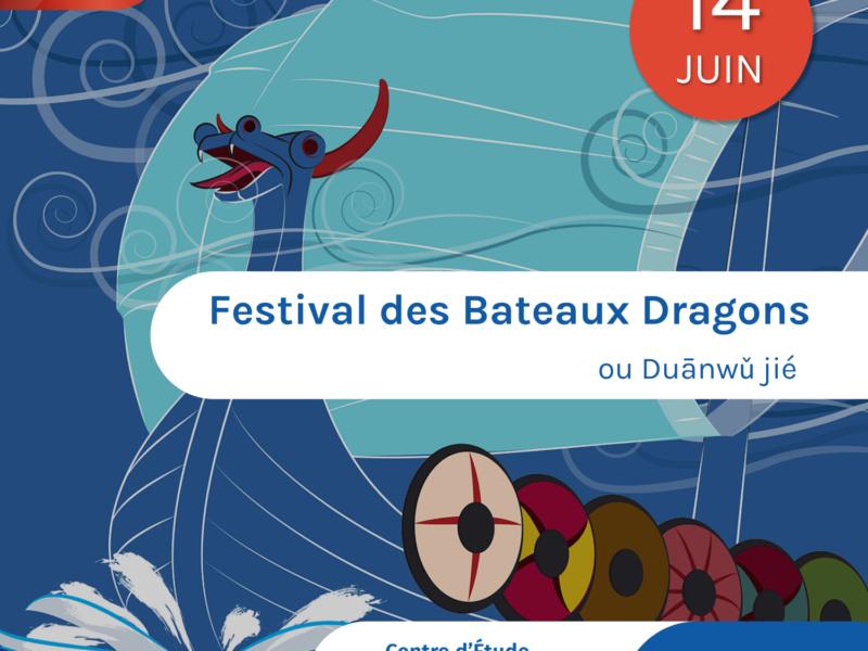 La fête des bateaux-dragons !