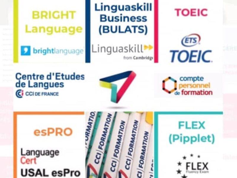 Enfin apprendre une langue étrangère et certifier ses compétences  …