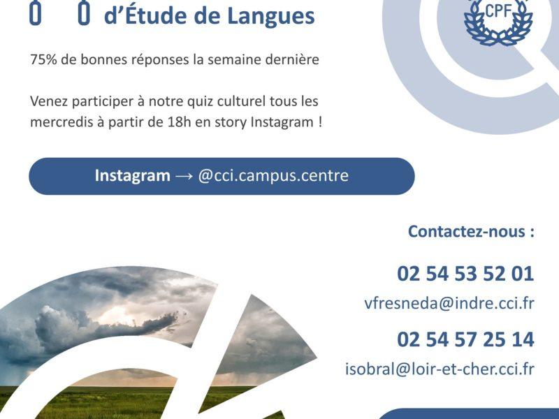 Avec le Centre d'Etude de Langues on en apprend toujours plus